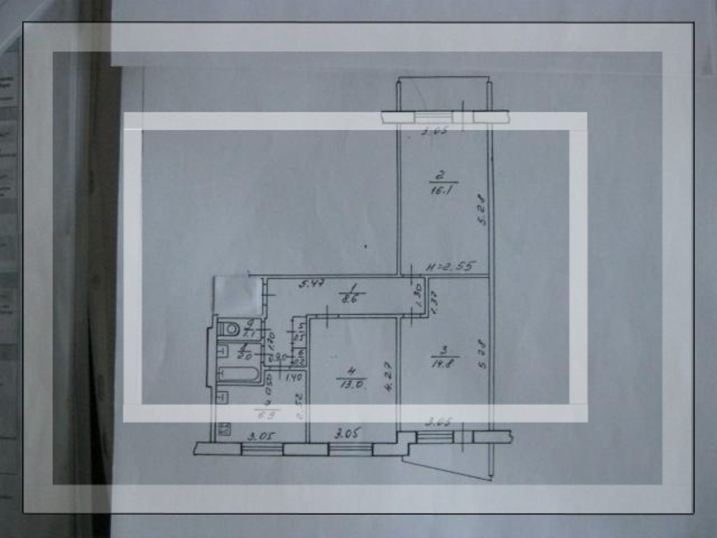 3 комнатная квартира, Харьков, Салтовка, Гвардейцев Широнинцев (101988 2)