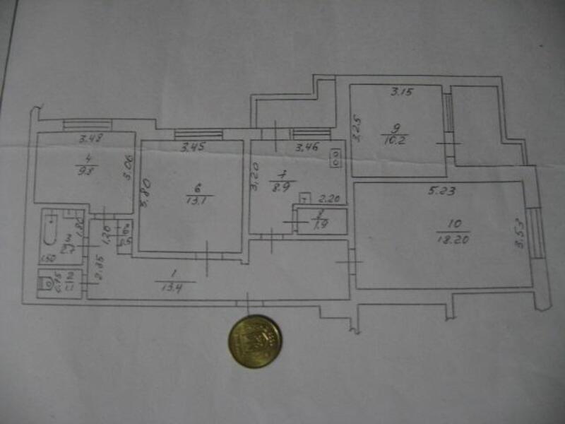 2 комнатная квартира, Харьков, Северная Салтовка, Гвардейцев Широнинцев (138623 1)