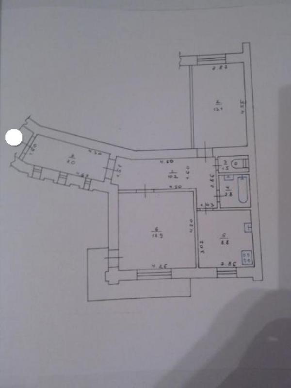 3 комнатная квартира, Харьков, НАГОРНЫЙ, Мироносицкая (163091 1)