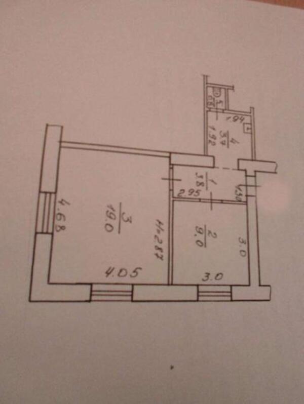 1 комнатная квартира, Харьков, ОДЕССКАЯ, Забайкальский пер. (226328 1)