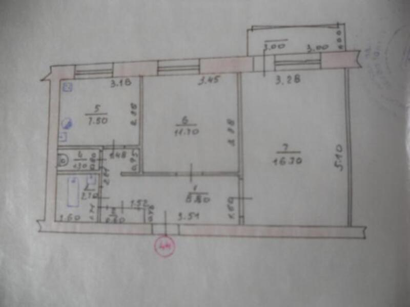 2 комнатная квартира, Новая Водолага, Плеханова, Харьковская область (237207 1)