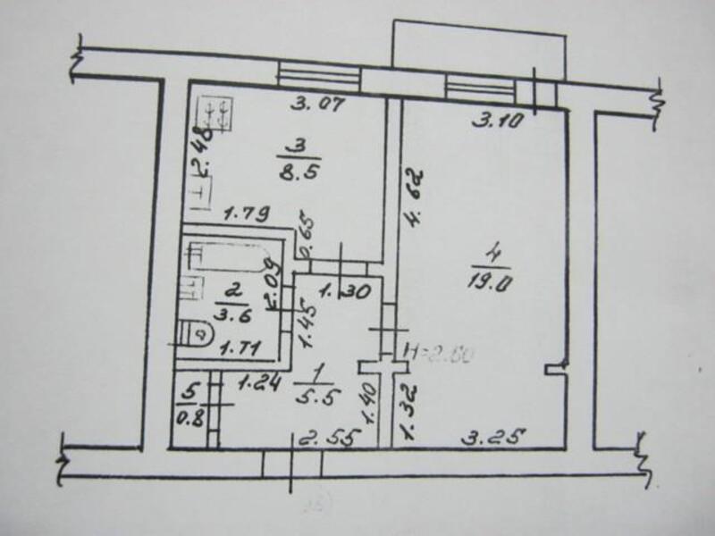 2 комнатная квартира, Харьков, Новые Дома, Танкопия (289936 1)