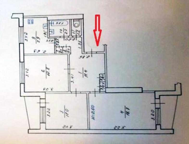 4 комнатная квартира, Харьков, Салтовка, Гвардейцев Широнинцев (346819 1)