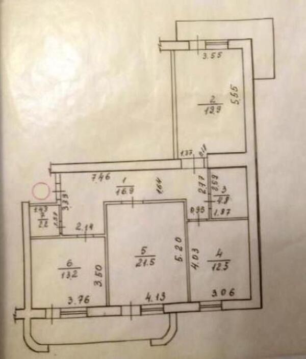 4 комнатная квартира, Харьков, Салтовка, Велозаводская (348459 1)