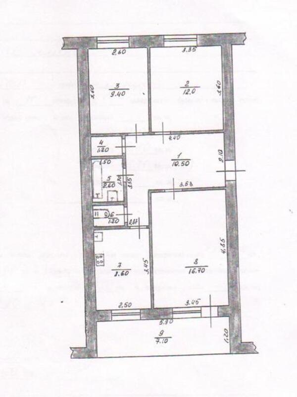 2 комнатная квартира, Буды, Харьковская область (353654 1)