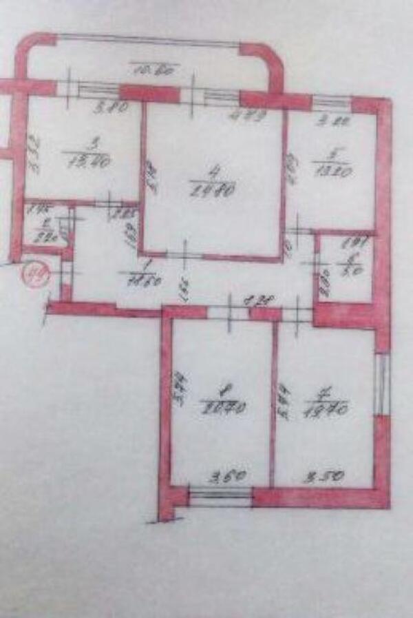 3 комнатная квартира, Малая Даниловка, Юбилейная, Харьковская область (364103 1)