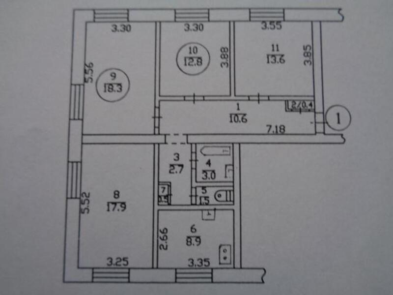 2 комнатная гостинка, Харьков, Южный Вокзал, Малогончаровская (377341 2)