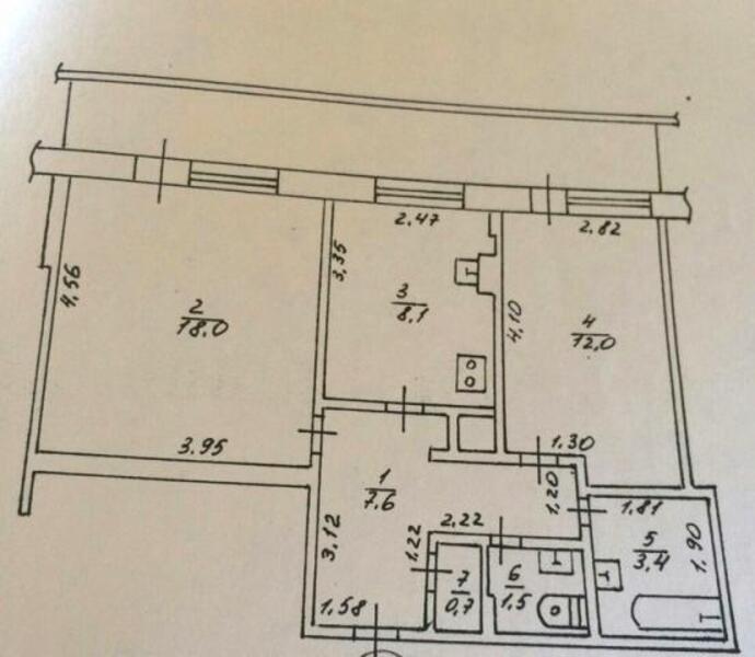 1 комнатная квартира, Харьков, Салтовка, Тракторостроителей просп. (383246 1)