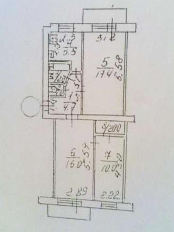 2 комнатная квартира, Харьков, ЦЕНТР, Москалевская (Октябрьской Революции) (385112 1)