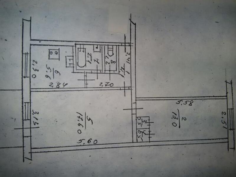 2 комнатная квартира, Харьков, Салтовка, Гвардейцев Широнинцев (390903 1)