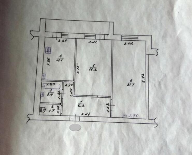 3 комнатная квартира, Харьков, Северная Салтовка, Кричевского (399475 1)