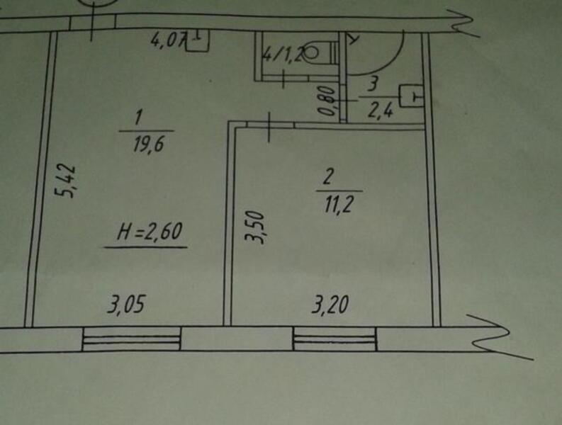 1 комнатная квартира, Харьков, Павлово Поле, Тобольская (402446 1)