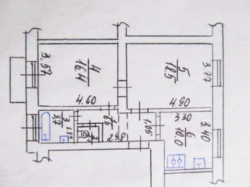 2 комнатная квартира, Харьков, Масельского метро, Александровский пр. (Косиора пр.) (404238 1)