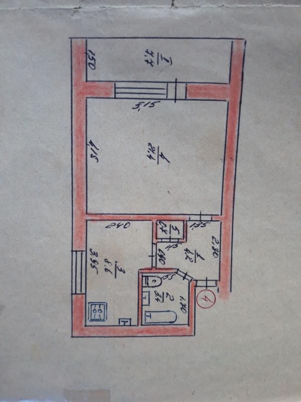 Купить 1-комнатная квартира, Соколово, Харьковская область