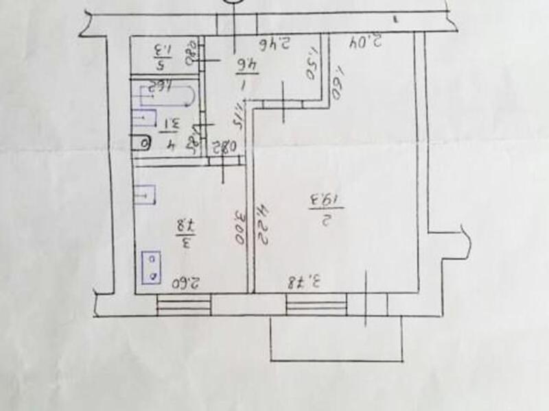1 комнатная квартира, Харьков, Салтовка, Тракторостроителей просп. (413878 1)