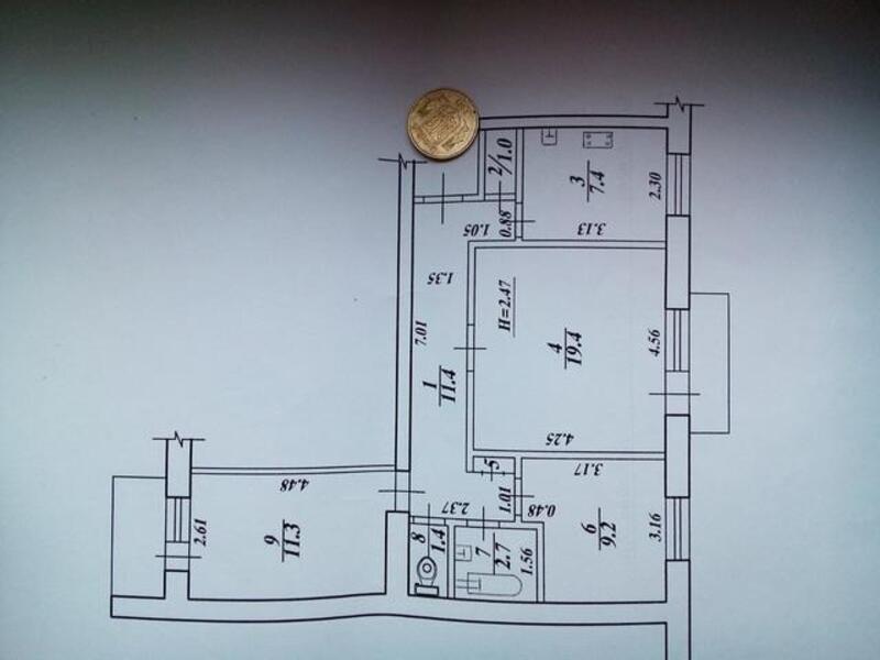 3 комнатная квартира, Харьков, ШАТИЛОВКА, Науки проспект (Ленина проспект) (419209 1)