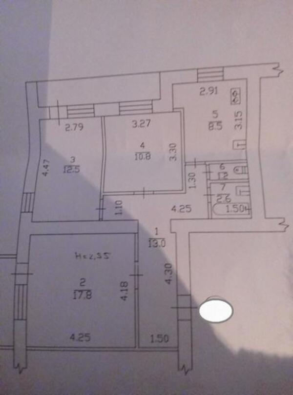 3 комнатная квартира, Харьков, Бавария, Дзюбы пр. (421551 1)
