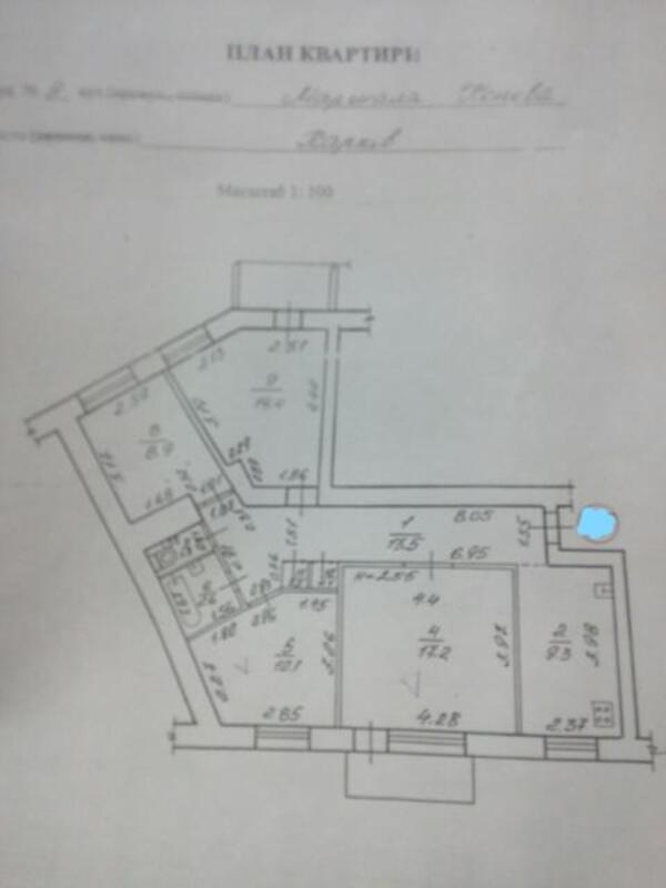 2 комнатная квартира, Харьков, Южный Вокзал, Полтавский Шлях (426345 2)