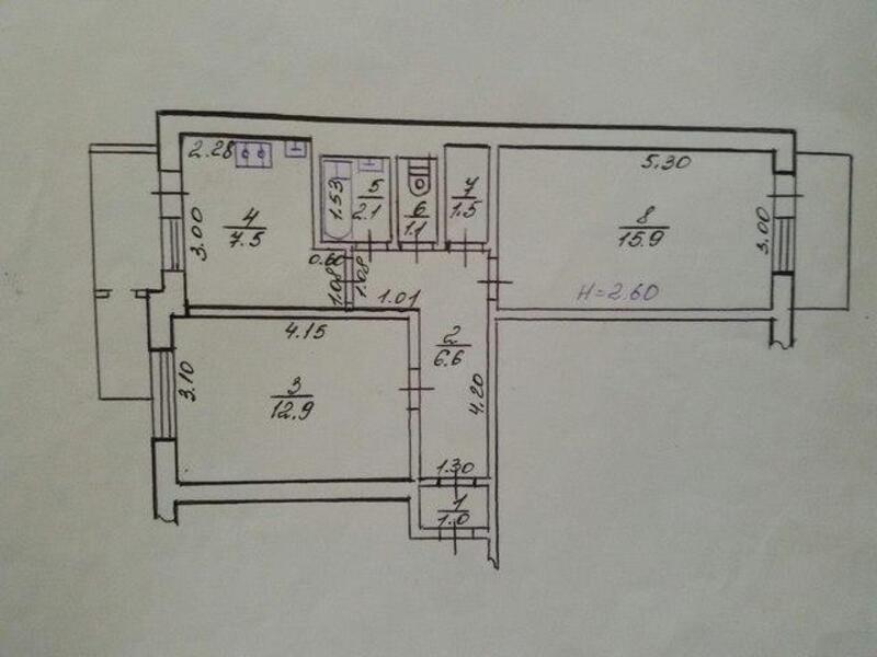 2 комнатная квартира, Харьков, Рогань жилмассив, Грицевца (428497 1)