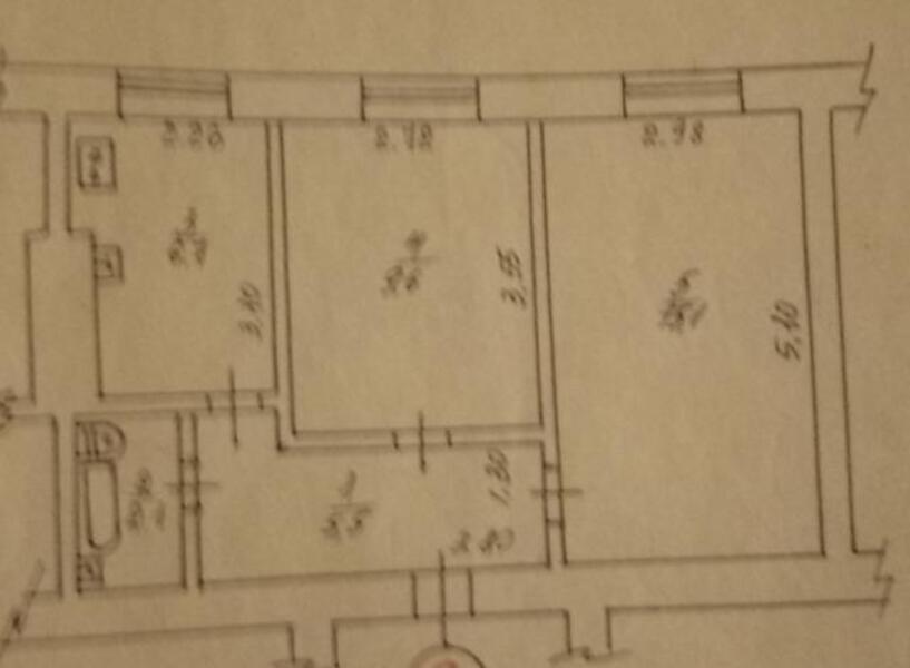 2 комнатная квартира, Харьков, ОДЕССКАЯ, Гагарина проспект (431588 1)