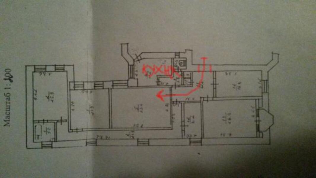 1 комнатная гостинка, Харьков, ЦЕНТР, Рымарская (436818 1)