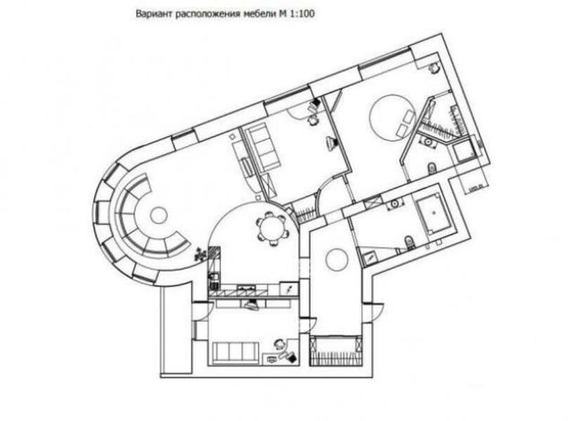 Квартира, 4-комн., Харьков, Центр, Чернышевская