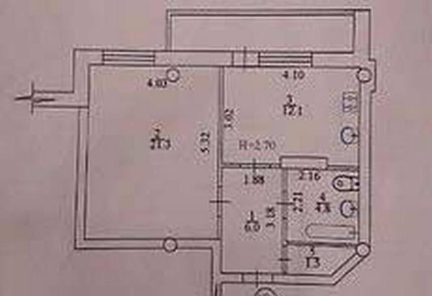 1 комнатная квартира, Харьков, Алексеевка, Победы пр. (438616 1)