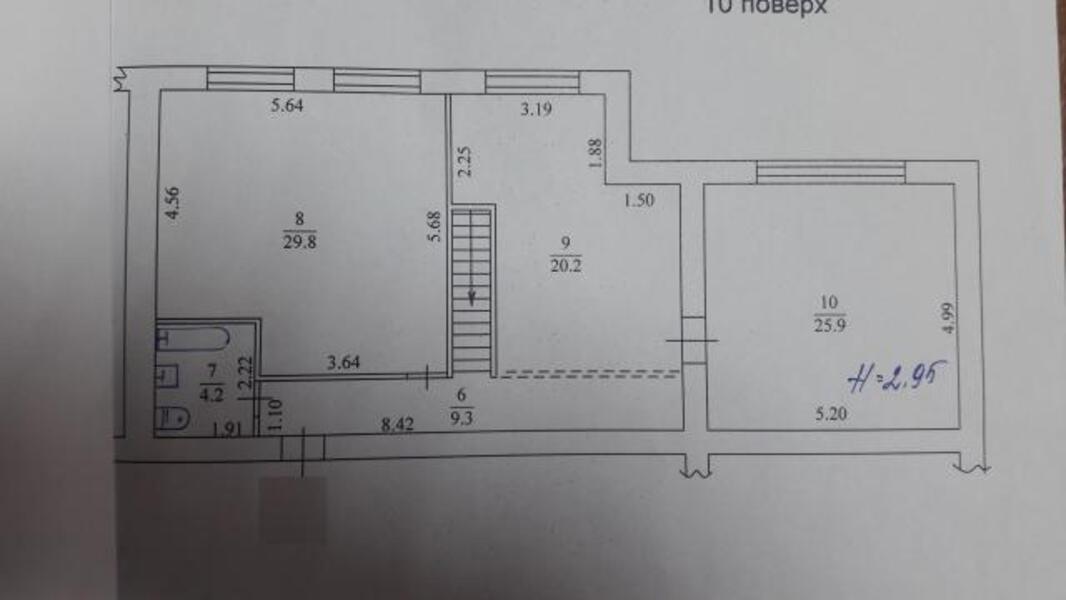 квартиру, 2 комн, Харьков, Гагарина метро, Гагарина проспект (439596 2)