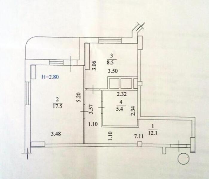 2 комнатная квартира, Харьков, Павлово Поле, Отакара Яроша (445128 2)