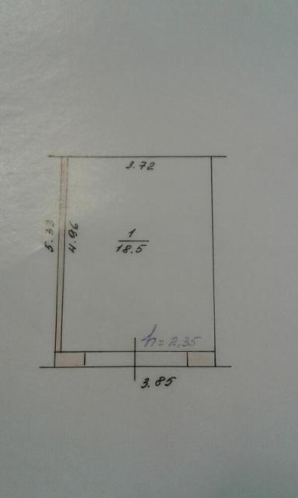1 комнатная квартира, Золочев, Терешкова, Харьковская область (449941 2)