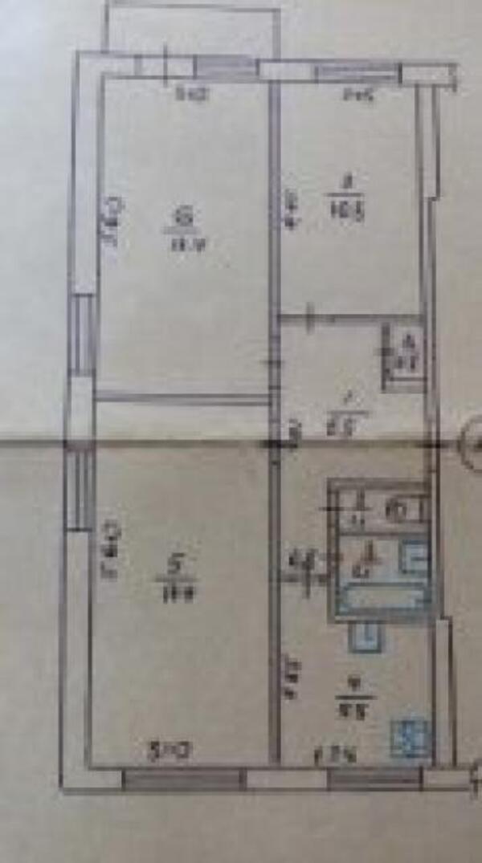 2 комнатная квартира, Харьков, Салтовка, Бучмы (Командарма Уборевича) (450242 12)