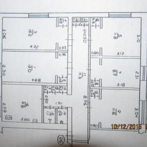 2 комнатная квартира, Харьков, Павлово Поле, Науки проспект (Ленина проспект) (450567 1)