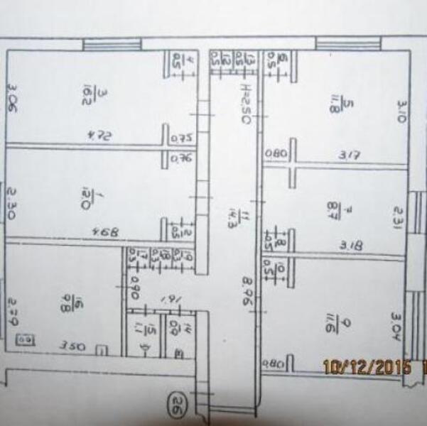 3 комнатная квартира, Харьков, Павлово Поле, Балакирева (450567 2)