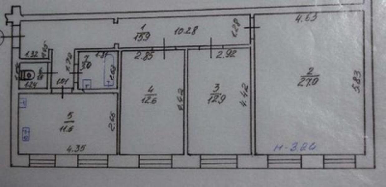 2 комнатная квартира, Харьков, Южный Вокзал, Ползунова (451411 1)