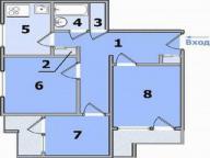 1 комнатная квартира, Харьков, Новые Дома, Московский пр т (451642 1)