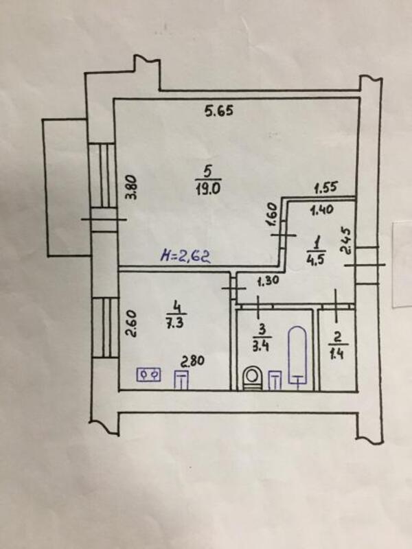 1 комнатная квартира, Харьков, Холодная Гора, Добролюбова (454104 1)