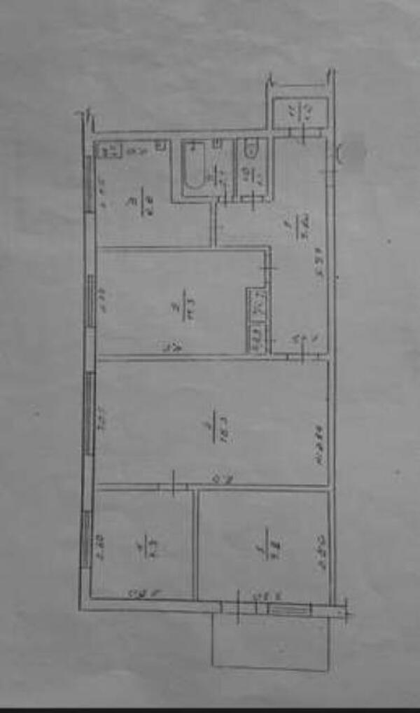 4 комнатная квартира, Харьков, Гагарина метро, Гагарина проспект (45793 1)