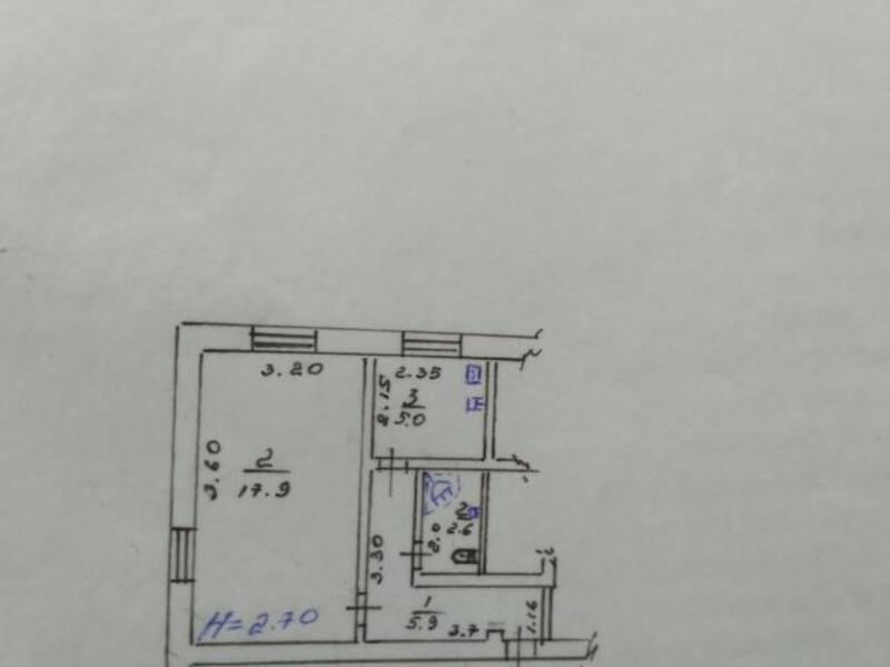 квартиру, 1 комн, Харьков, Бавария, Ново Баварский пр. (Ильича пр.) (460714 1)