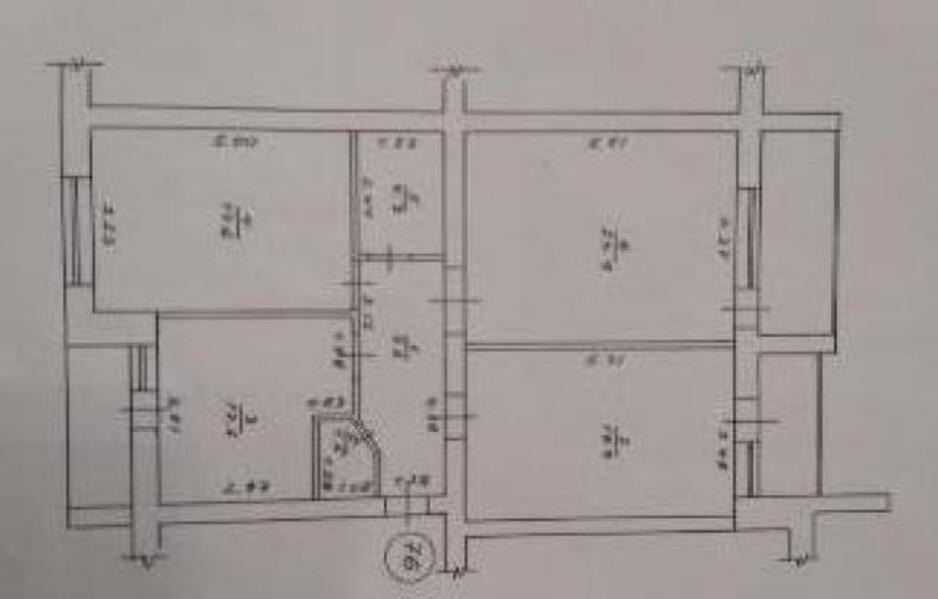 5 комнатная квартира, Харьков, Салтовка, Тракторостроителей просп. (460792 1)