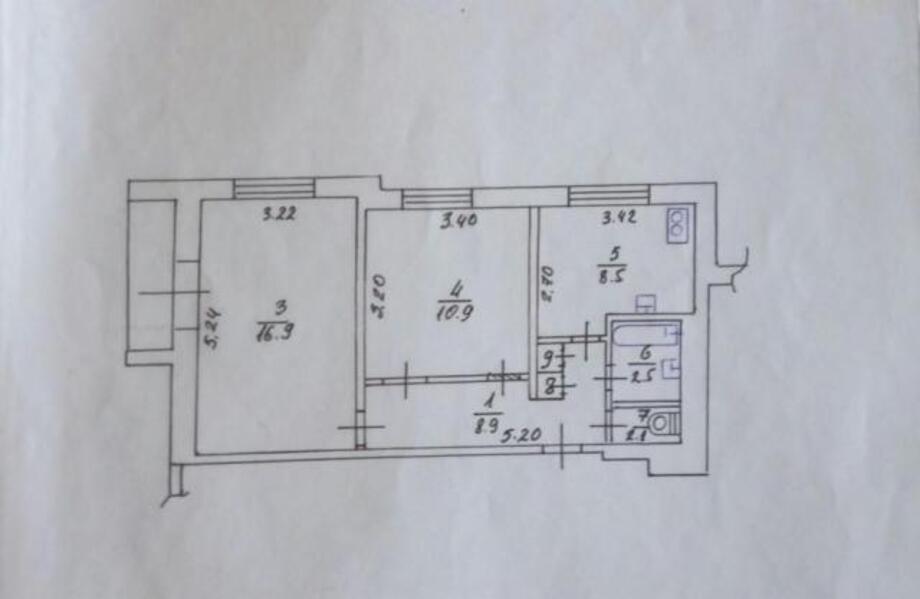2 комнатная квартира, Харьков, Салтовка, Салтовское шоссе (461483 1)