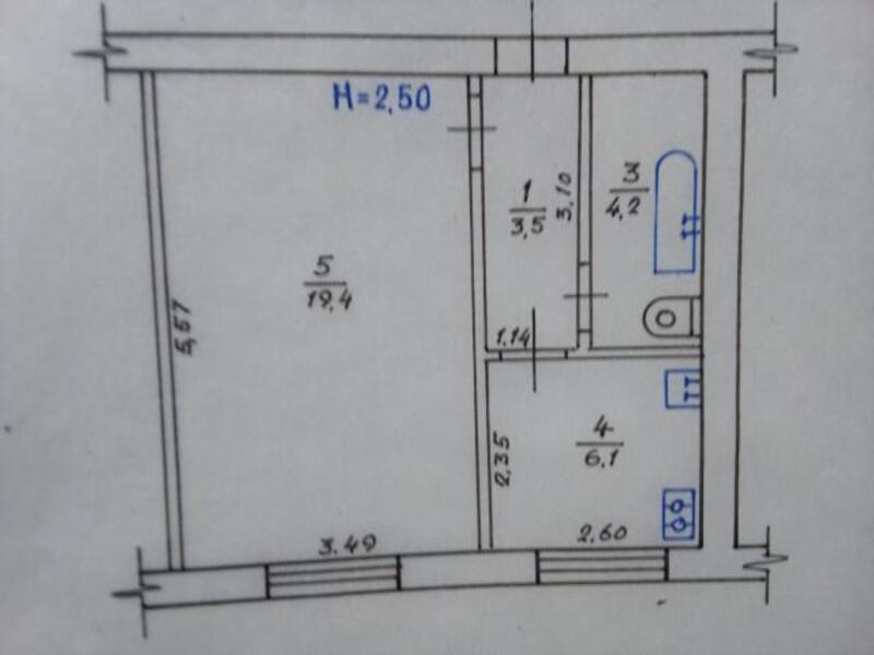 2 комнатная квартира, Харьков, Защитников Украины метро, Московский пр т (465437 1)