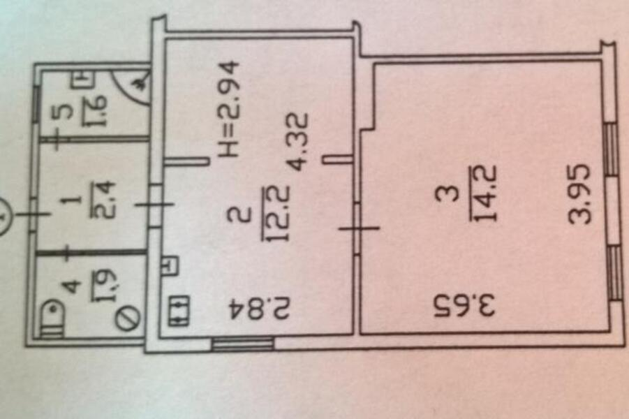 1 комнатная квартира, Харьков, Бавария, Ново Баварский пр. (Ильича пр.) (465575 1)