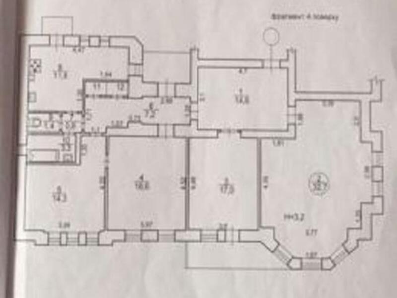 3 комнатная квартира, Харьков, НАГОРНЫЙ, Мироносицкая (466387 1)