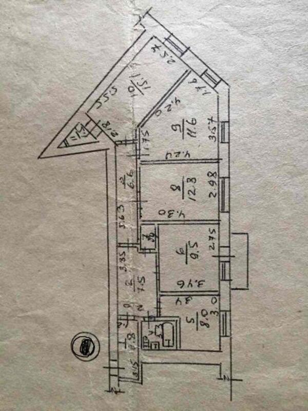 2 комнатная квартира, Харьков, Гагарина метро, Гагарина проспект (467791 1)