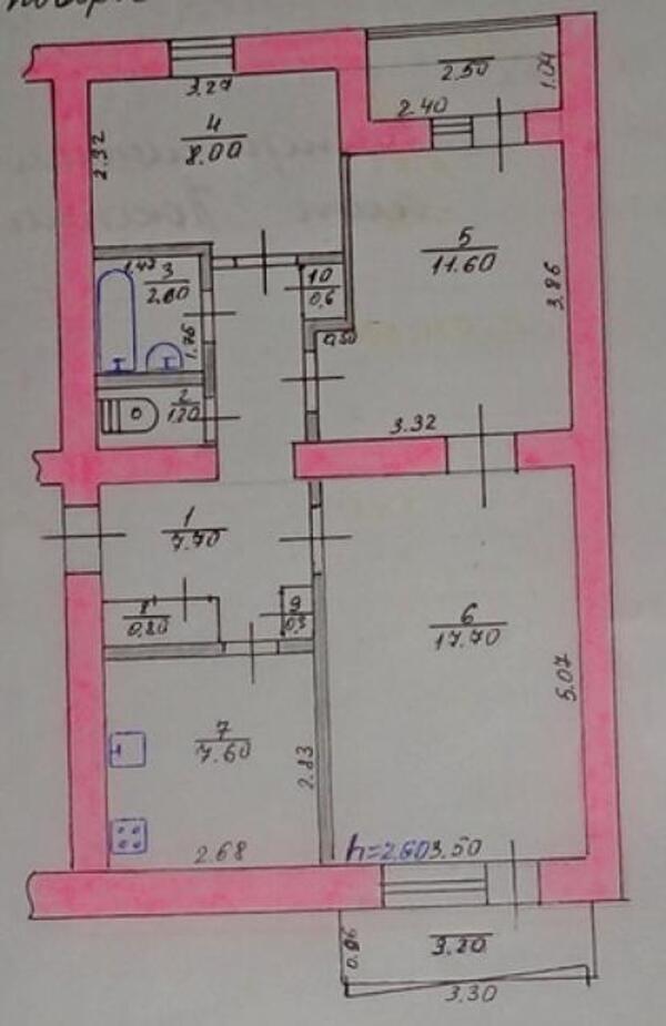 1 комнатная квартира, Песочин, Квартальная, Харьковская область (470282 1)