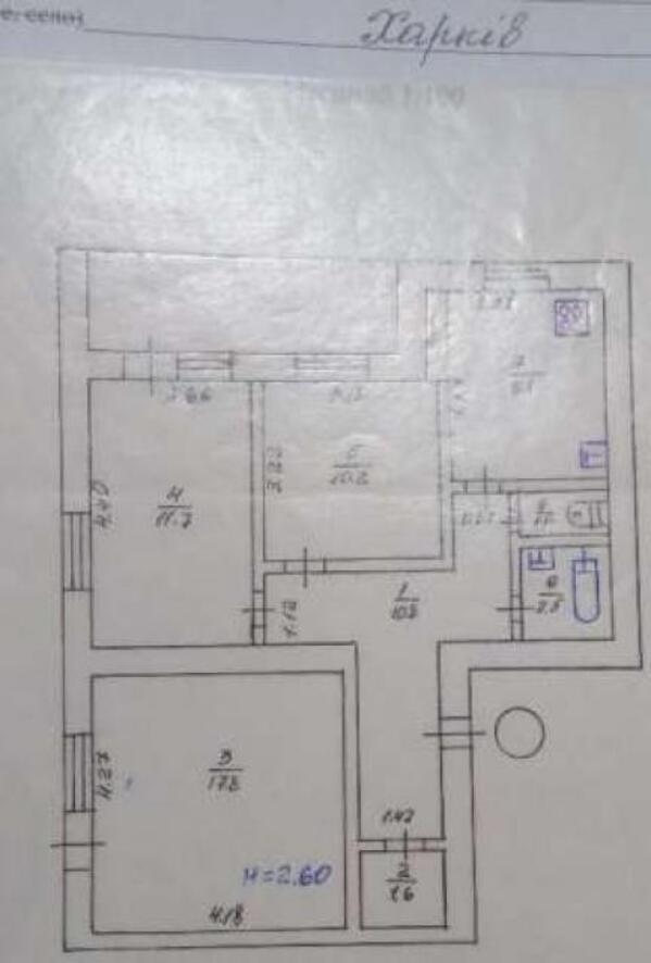 3 комнатная квартира, Харьков, Завод Шевченко, Селянская (Совхозная, Пионера) (470836 1)