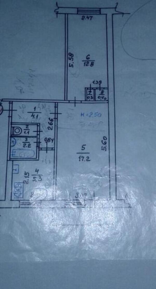 2 комнатная квартира, Харьков, Новые Дома, Героев Сталинграда пр. (471449 1)