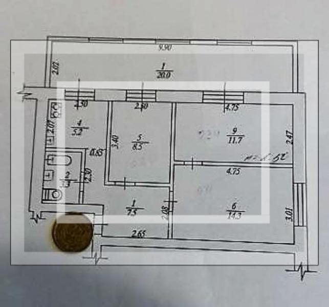 Купить 3-комнатная квартира, Харьков, ОДЕССКАЯ, Матросова