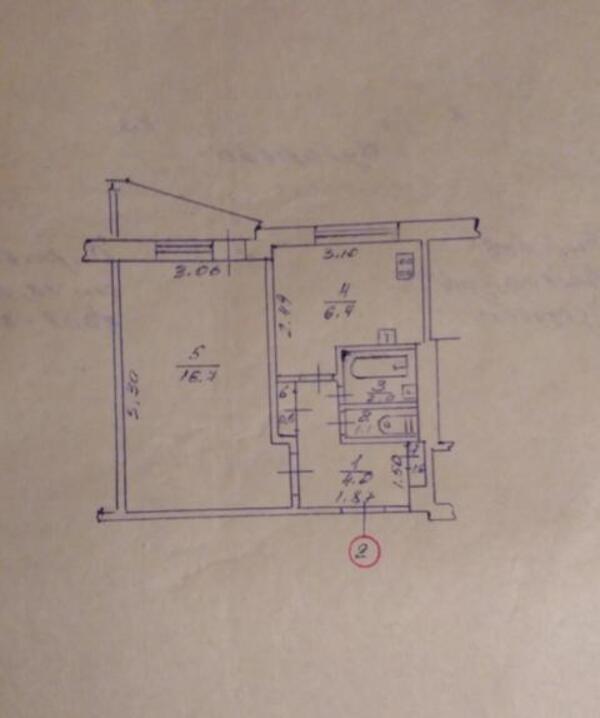 2 комнатная квартира, Харьков, ХТЗ, Франтишека Крала (472348 1)