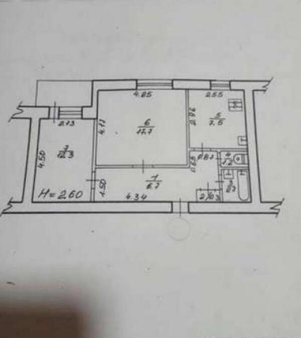 2 комнатная квартира, Харьков, Павлово Поле, Клочковская (472429 1)